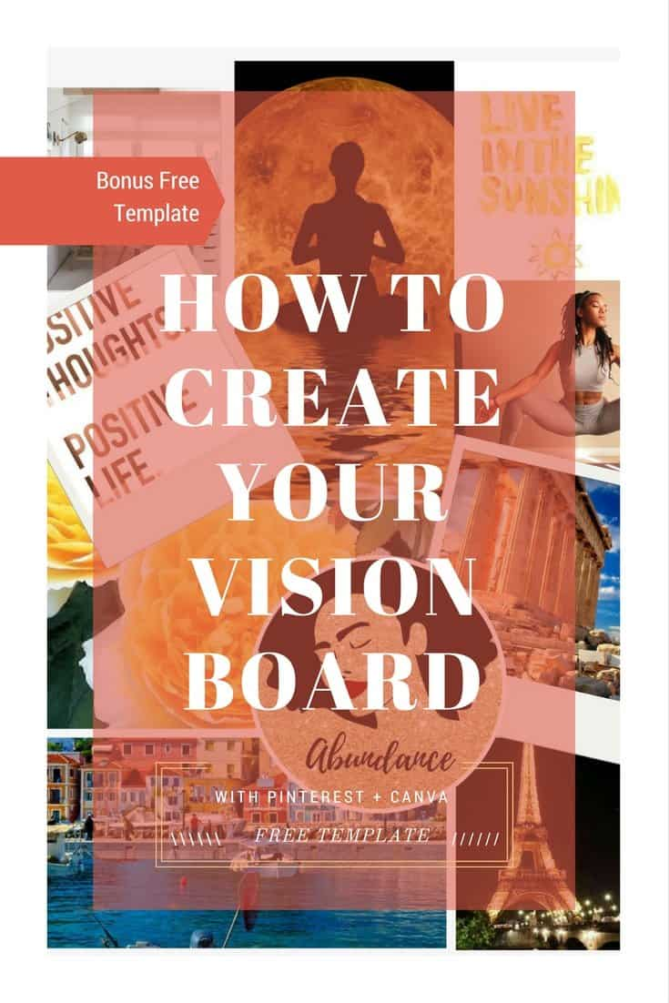 How to Create Your Vision Board  Getting your goals out of your head and making them work.#paperflodesign #visionboard