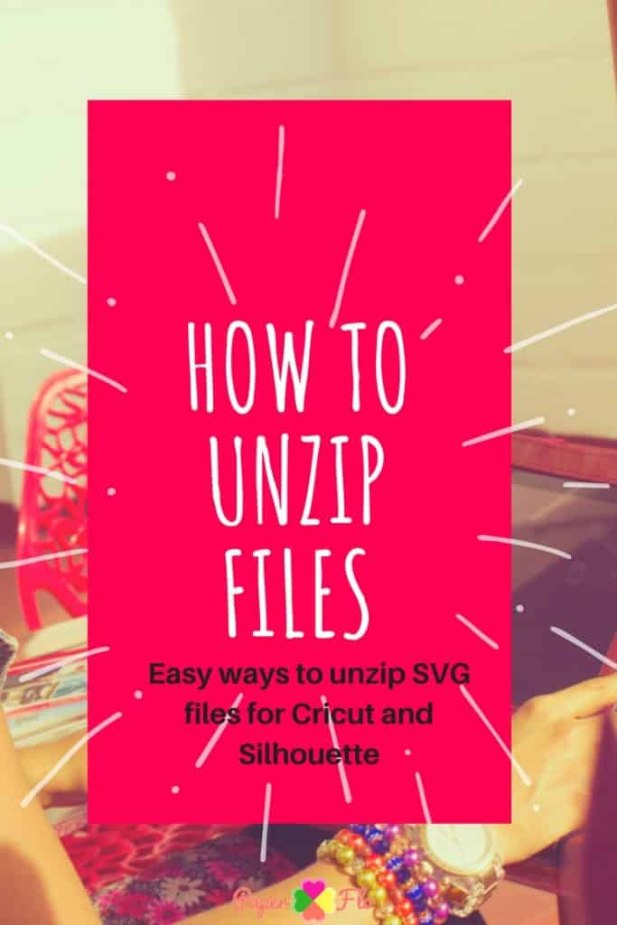 How to unzip files