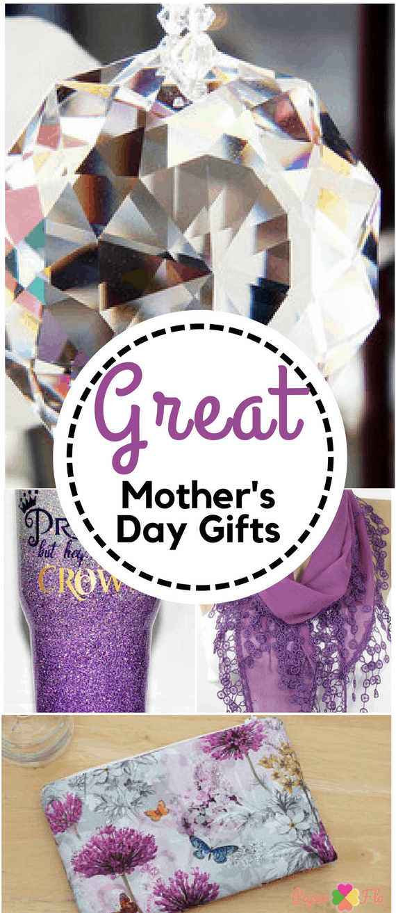 Great Mother's Day Gifts Celebrate Mom, Grandma and the mother to be with a gift that she'll never forget #paperflodesign #mothersdaygifts #giftsformom #giftsforher