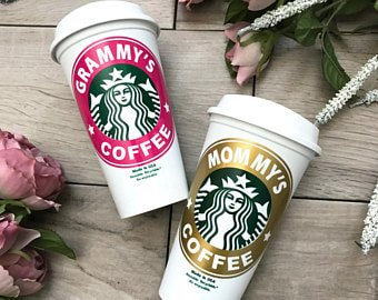 Personalized mommy coffee cup