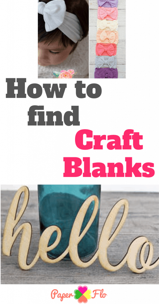 How to find craft blanks ideas