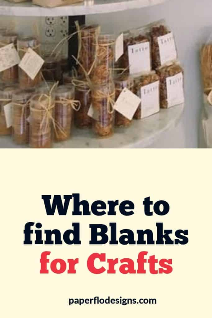 Where to find blanks for crafts