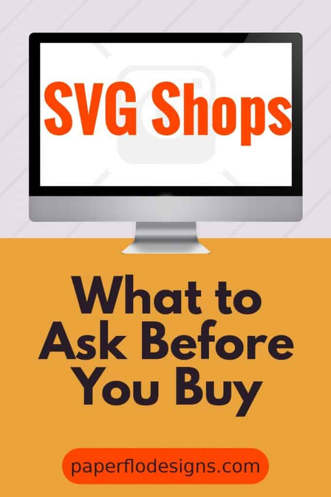 svg shops. What to ask before you buy