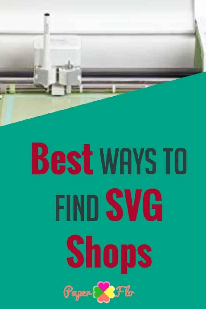 Best Ways to Find SVG Shops