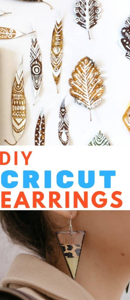 DIY Cricut Earrings
