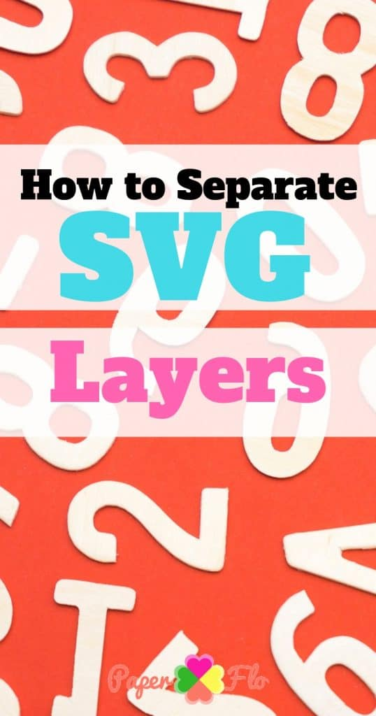 How to Separate SVG Layers