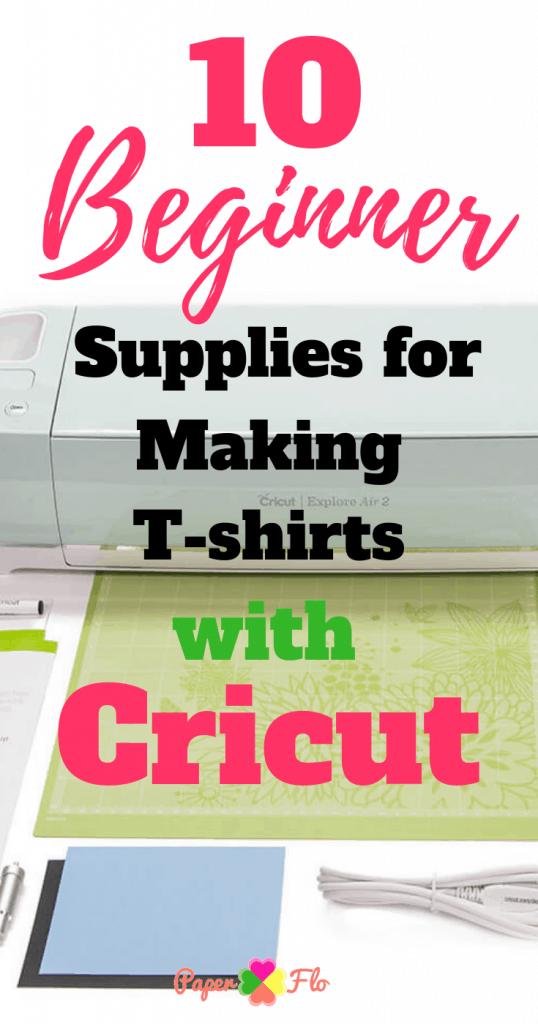 10 Beginner Supplies for Making T-shirts