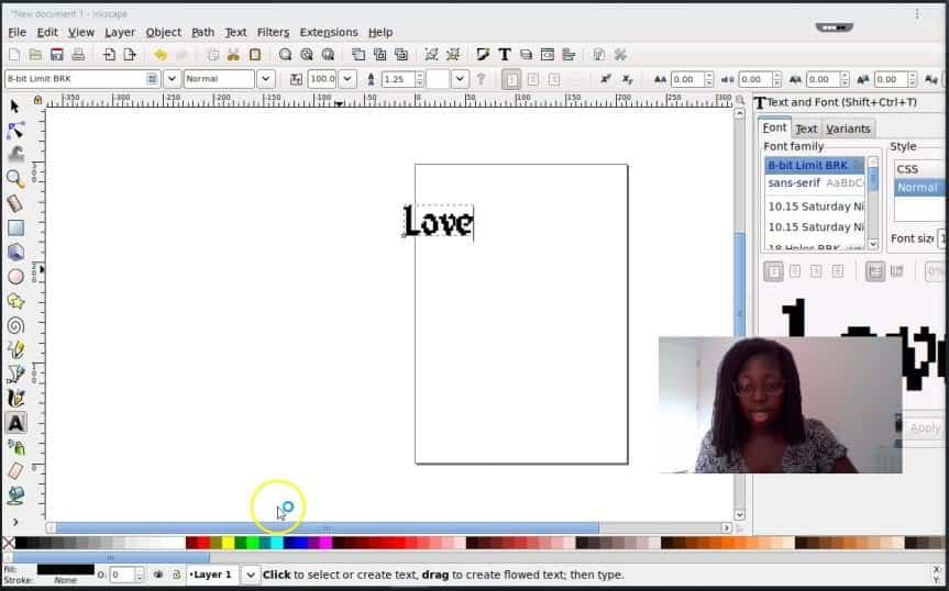 Inkscape on roll app 5 How to Create an svg image online