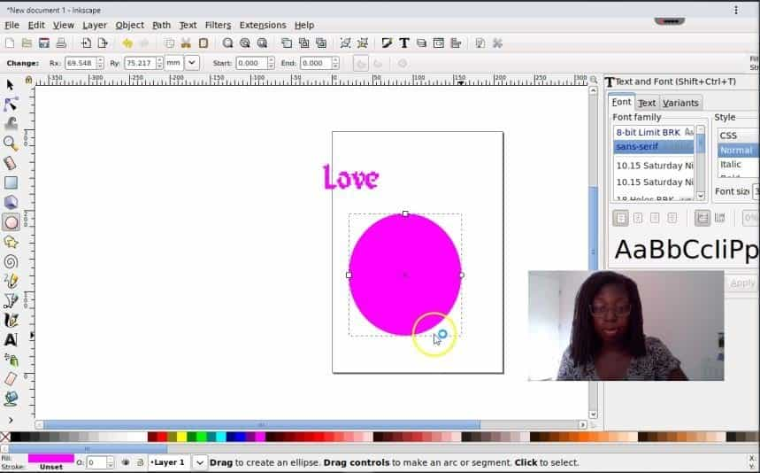 Inkscape on roll app 6 How to Create an svg image online edit svg
