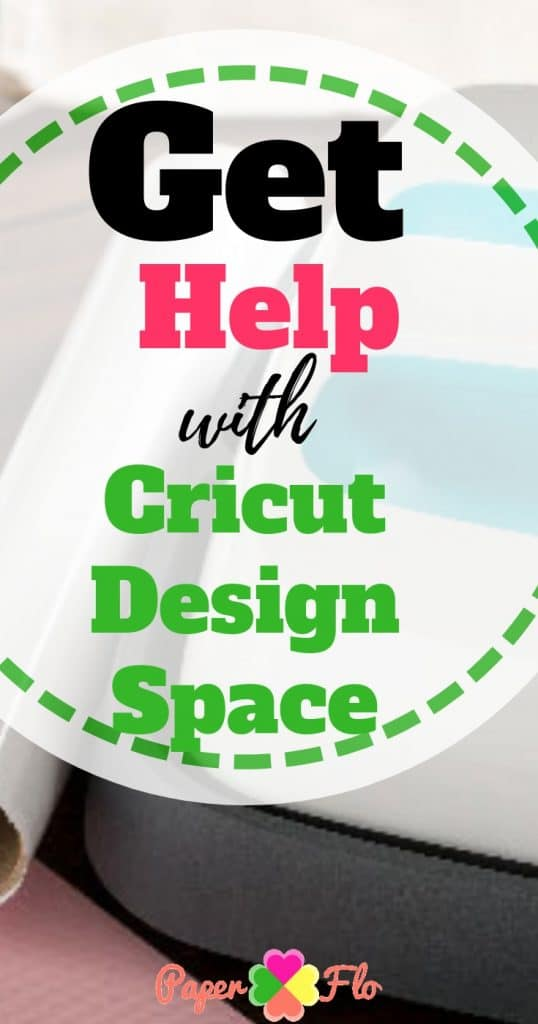 Get Help with Cricut Design Space